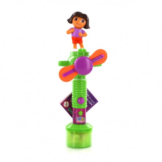 Dora Light-Up Cool Fan With Candies 10g