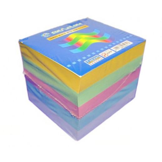 Sinarline Colored Memo Pad Cube