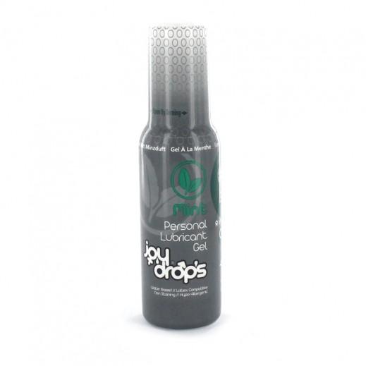 Joy Drops Personal Lubricant Gel Mint 100ml