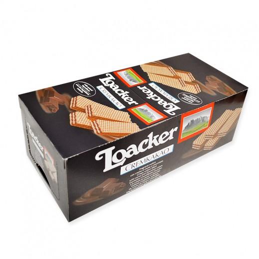 Loacker Cremkakao Wafer 25 x 45 g