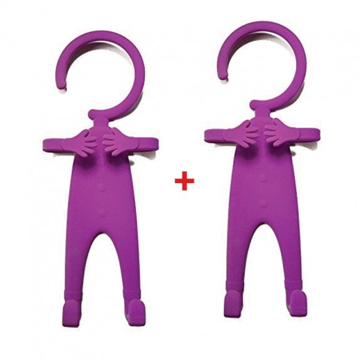 Buy 1 Get 1 Free Flexible Cellphone Holder Purple