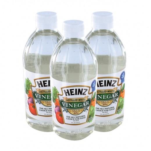 Value Pack - Heinz Distilled White Vinegar 473 ml (3 pieces)