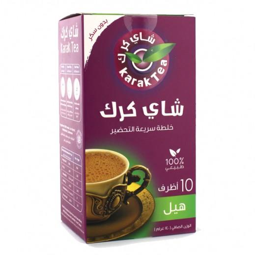 Karak Tea Cardamom Instant Premix Unsweetened 10 x 14 g