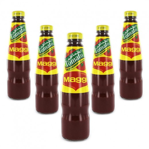 Value Pack-Maggi Tomato Ketchup 325 g ( 6 pieces)