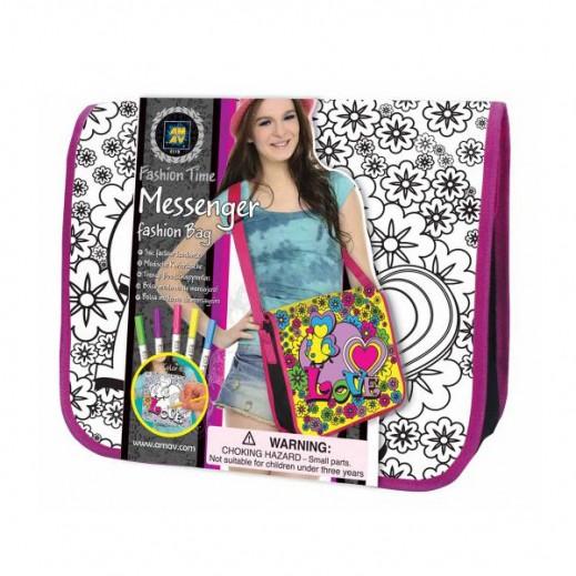 Fashion Time Messenger Bag