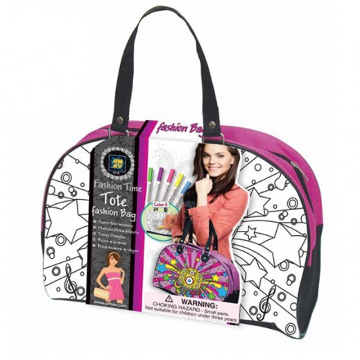 Fashion Time Tote Bag