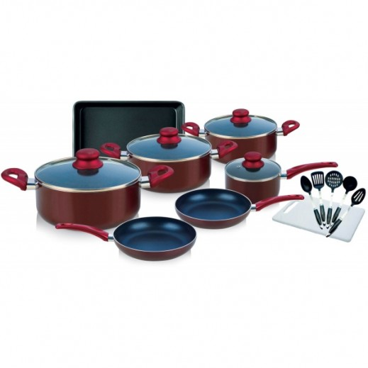 Hamilton Cookware Set 17 Pieces