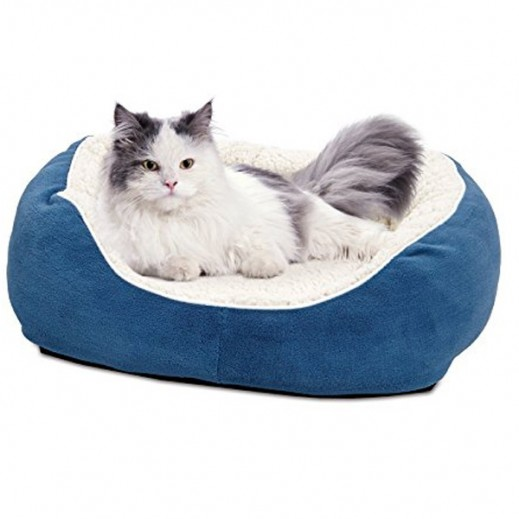 Midwest Cuddle Bed (Blue) 30.5x23.5x7.5 cm