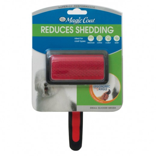 Magic Coat Reduces Shedding Small Slicker Brush