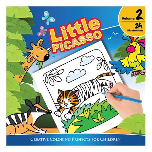 Little Picasso Kidz Coloring Book Vol.2