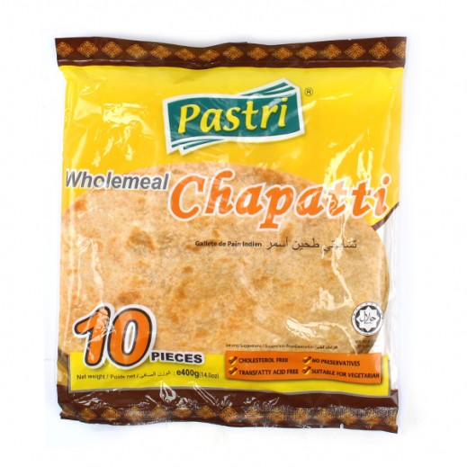Pastri Whole Meal Chapatti 400g