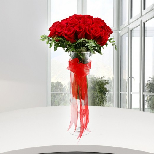 Deep Red - delivered by A&K FLOWERS