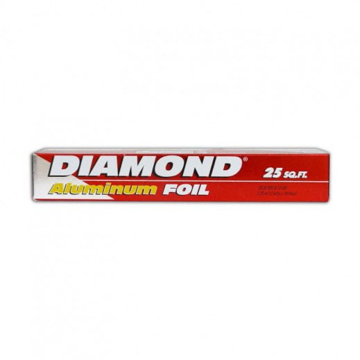 Value Pack - Diamond Aluminium Foil 25 Sq.Ft (4 pieces)