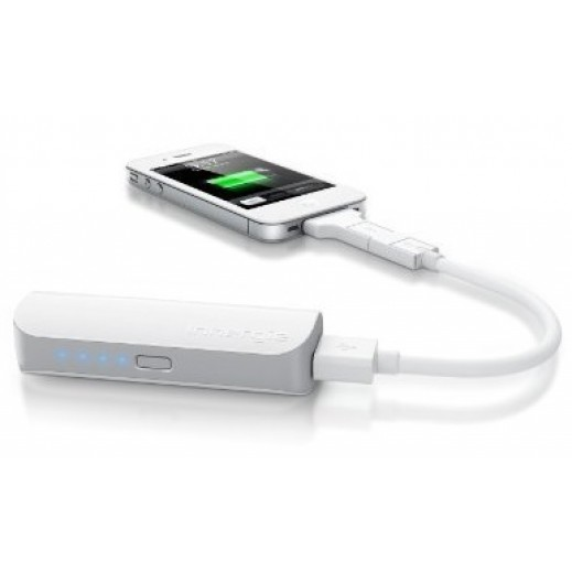 Innergie Pocketcell Rechargeable Portable Battery 3,000mAh White