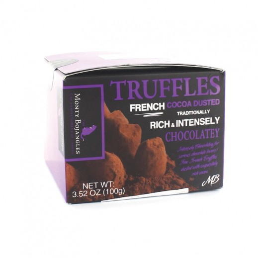 Monty Bojangles Rich & Intensely Chocolatey Cocoa Dusted Truffles 100g
