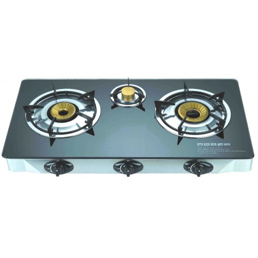 Primera Triple Gas Burner Glass top (PGB300)