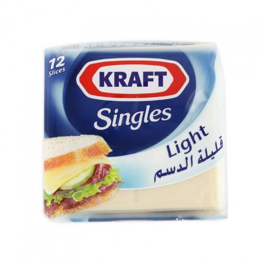 Kraft Cheddar Light Cheese Singles 180g