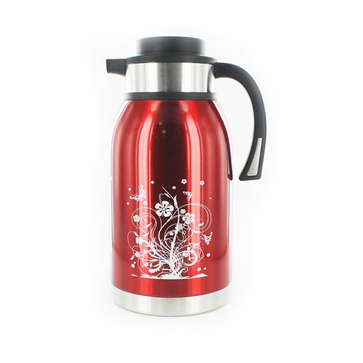 Sumo Stainless Steel Vaccum Flask 2.5L Red