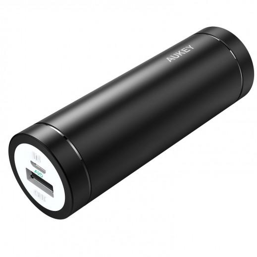 Aukey 5,000mAh Lipstick Style External Battery Power Bank