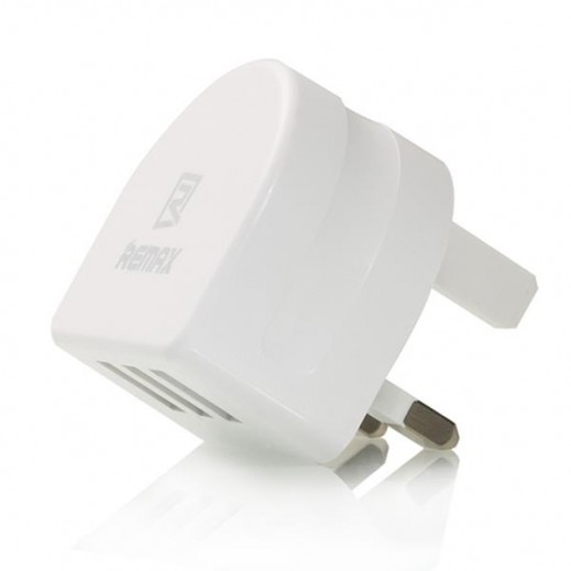 Remax Home Charger 3.1A 3 Ports USB White RP-U31