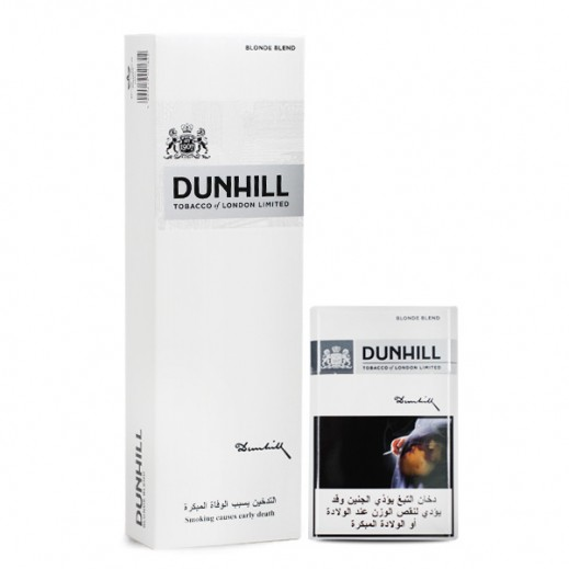 Dunhill 1 Mg White Cigarettes (Ctn)