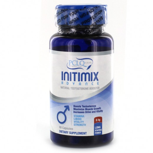 Pclq Initimix Advance Natural Testosterone Booster 60 Caps