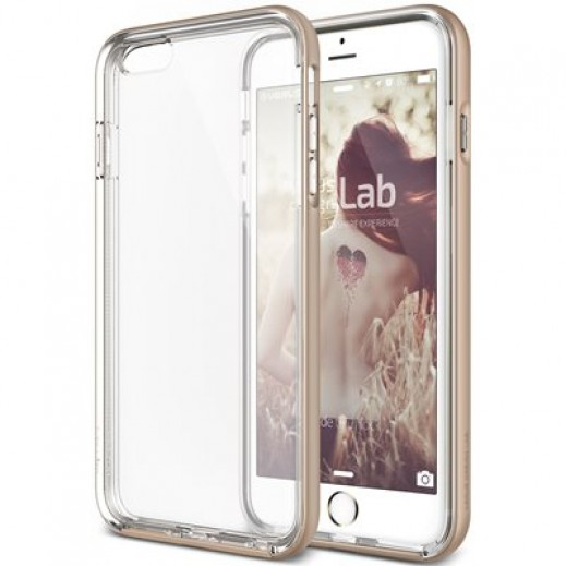Verus New Crystal Bumper For iPhone 6 Plus/6S Plus Shine Gold