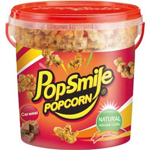 Pop-Smile Natural Popcorn Caramel Flavour 200 g