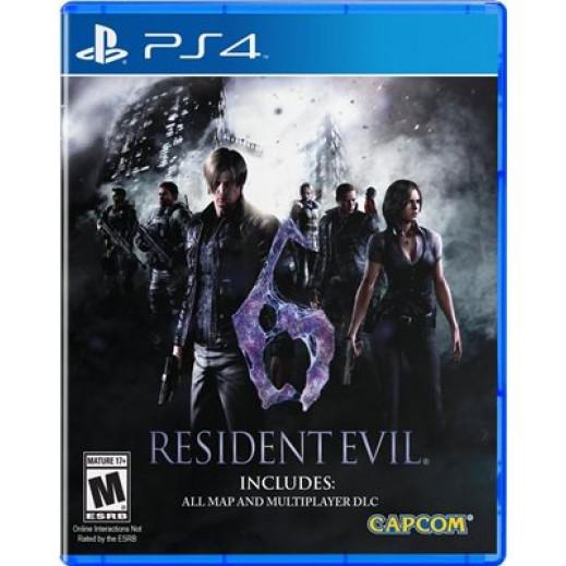 Resident Evil 6 for PS4 - NTSC