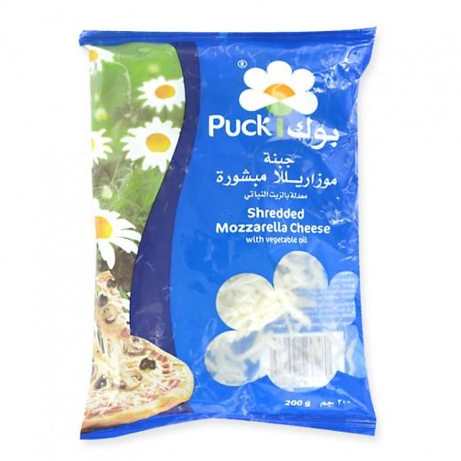 Puck Shredded Mozzarella Cheese 200 g