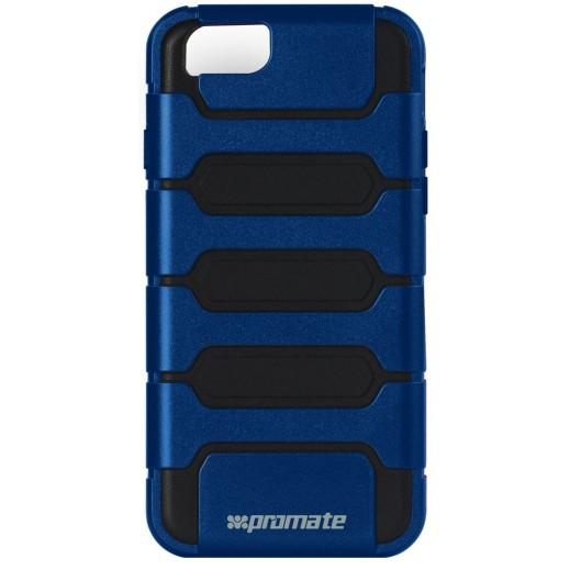 Promate Tough Shell Protective Combo Case for iPhone 6/6S Plus Blue