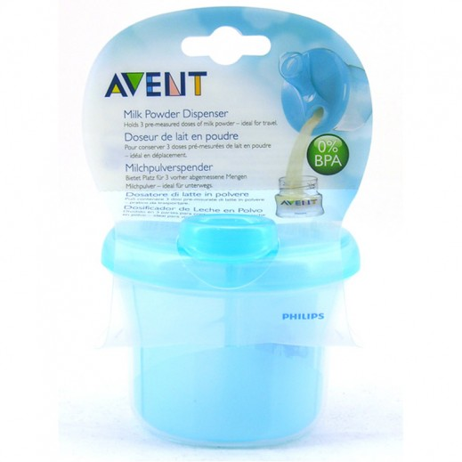 Philips Avent Milk Powder Dispenser Blue SCF135/06