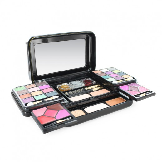 Beauty Fancy Treasure Makeup Kit For Her Small - Black