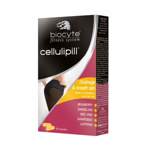 Biocyte Fitness System Cellulipill Drainage & Smooth Skin 60 Capsules