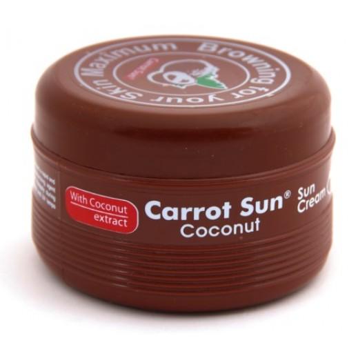 Carrot Sun -Tanning Cream Coconut 350 ml