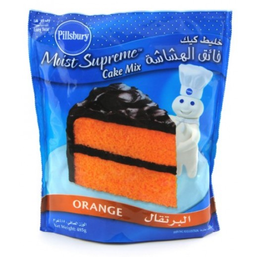 Pillsbury Cake Mix Orange 485 g