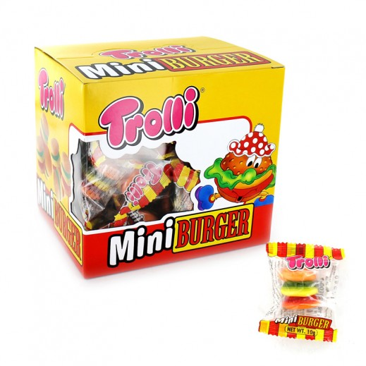 Trolli Jelly Candy Mini Burger 36x12 g