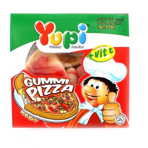 Yupi Jelly Candy Pizza (4 pieces) 15 g