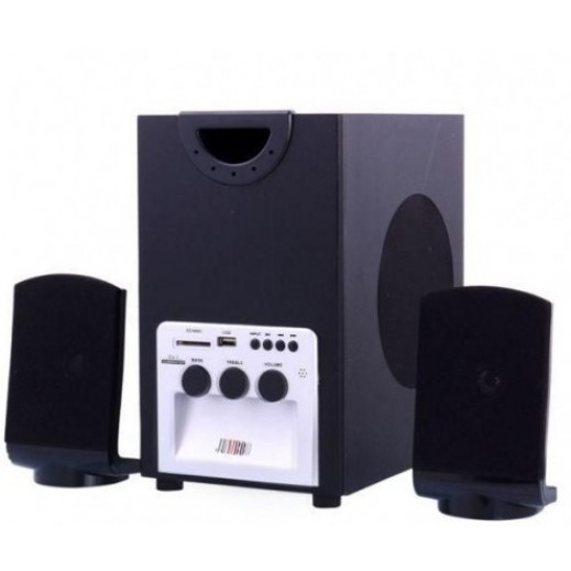 Jumbo 2.1 Channel Audio System with USB/SD Card/Remote/FM Function