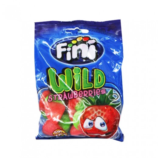 Fini Clear Wild Strawberry Candy 100 g