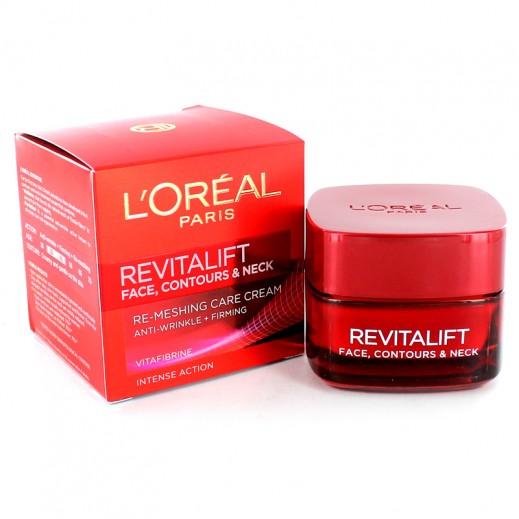 Loreal Revitalift Face & Neck Contour Cream 50 ml