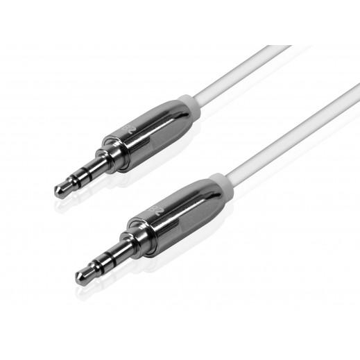 SBS AUX cable 3.5mm Black LTHL001