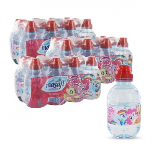 Wholesale - Masafi Sport Cap (Little Pony) Water 36x200 Ml