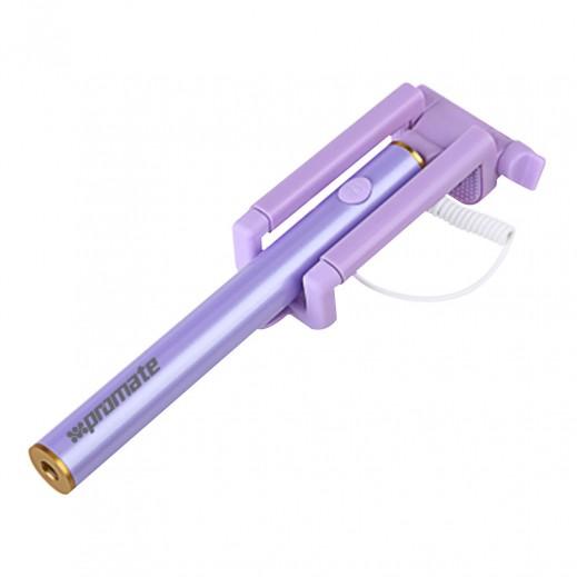 Promate Extendable Selfie Minipod Purple