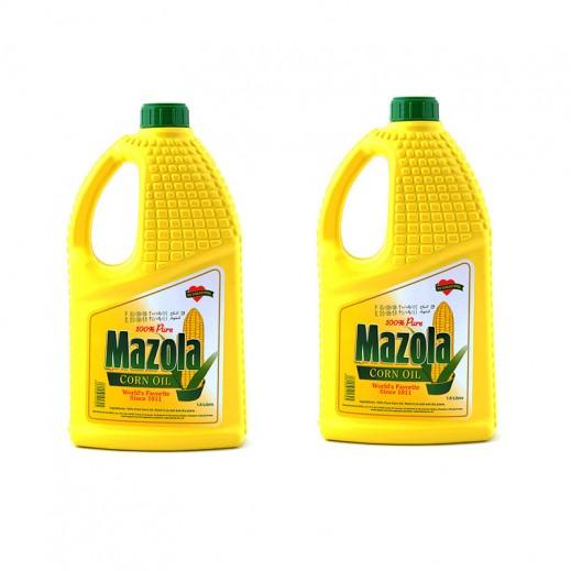 Mazolla Corn Oil Special Offer 2 x 1.8 ltr
