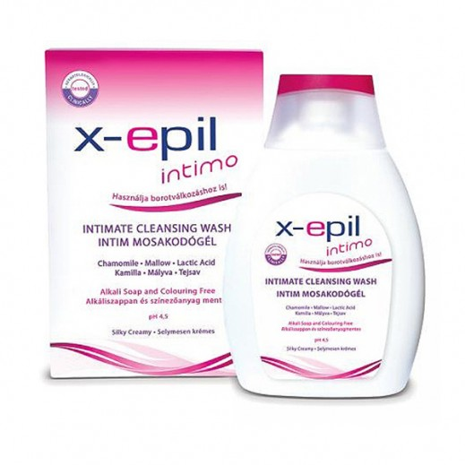 X-epil Intimo Intimate Cleansing Wash 250 ml