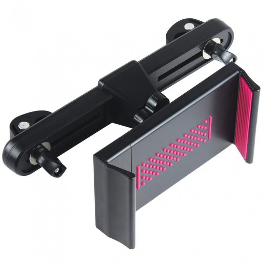 Promate Universal Heavy Duty Tablet Headrest Mount for Devices up to 10 Pink