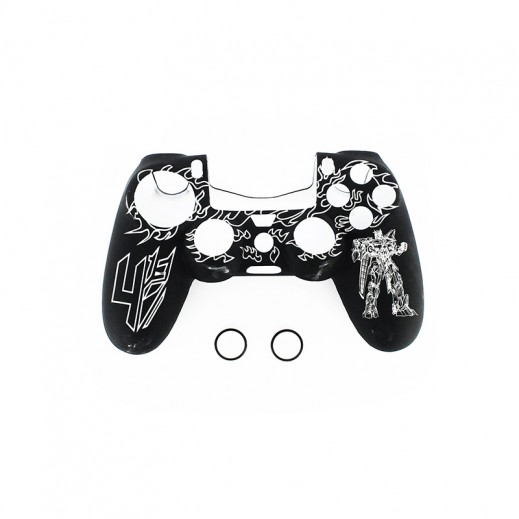 Silicone Case For PS4 Controller - Black & White