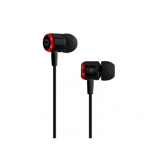 SBS Earset Wired stereo Studio Mix 40 For Iphone , Smartphones and Mobiles black