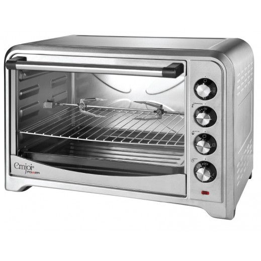 Emjoi Power Electrical Oven Toaster (Rotisserie + Convention + Baking Tray) 70L